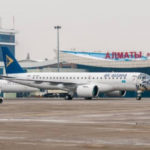 Air Astana выполнила первый пассажирский рейс на Embraer E190-E2