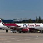 Коэффициент загрузки ВС лоукостера FlyArystan достиг 93%