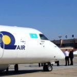Пассажиропоток авиакомпании Qazaq Air по итогам 2019 года вырос на четверть