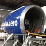 """Специалисты Air Astana Engineering обслужили самолет Boeing 757 авиакомпании """"Якутия"""""""
