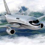 Арендовать самолет Sukhoi Business Jet в Казахстане