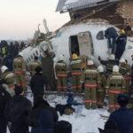В Казахстане потерпел катастрофу самолет местной авиакомпании Bek Air